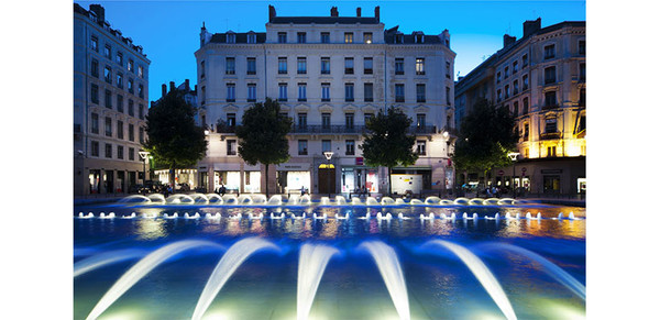 Lyon reduces its fountains' energy bills