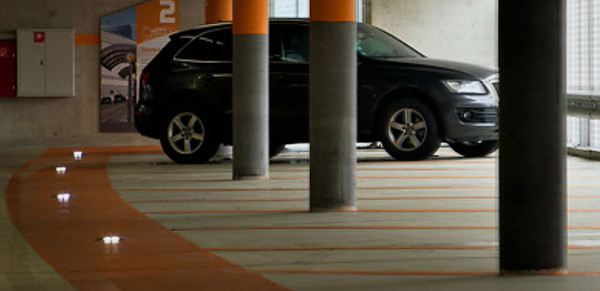 LED car park marking, where safety meets innovation