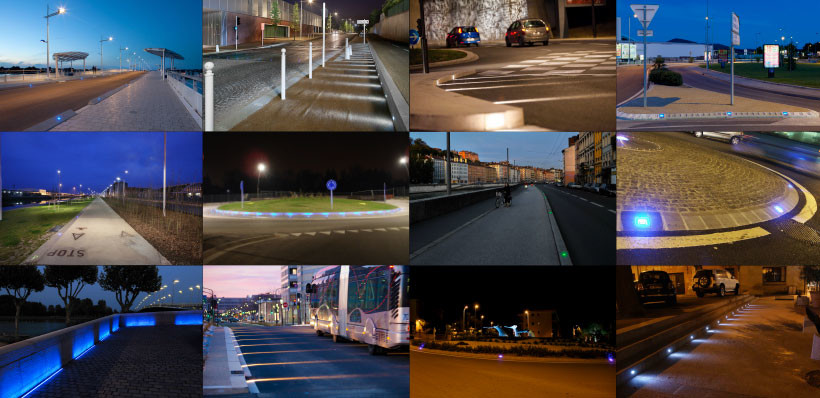 Night-time urban safety: our customised LED marker-lights